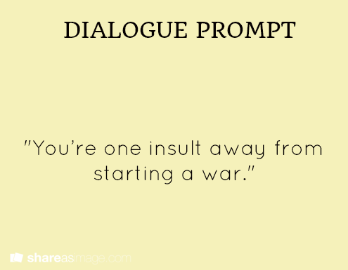 one word writing prompts